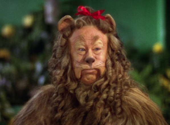 Happy Bert-day, Cowardly Lion!