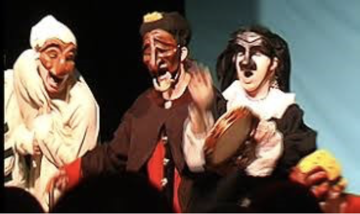 commedia dell arte masks
