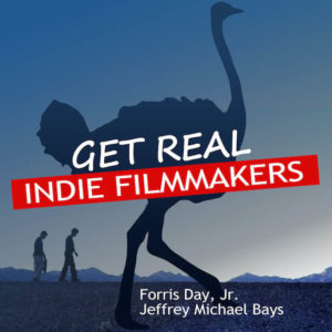 Get Real: Indie Filmmakers Podcast Logo